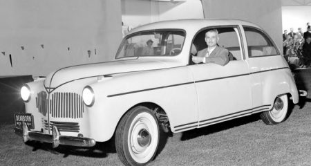 Henry Ford built a plastic car