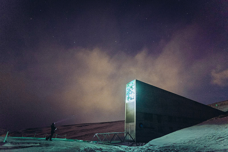 Inside the 'Doomsday Vault' buried 500 feet inside an Arctic mountain