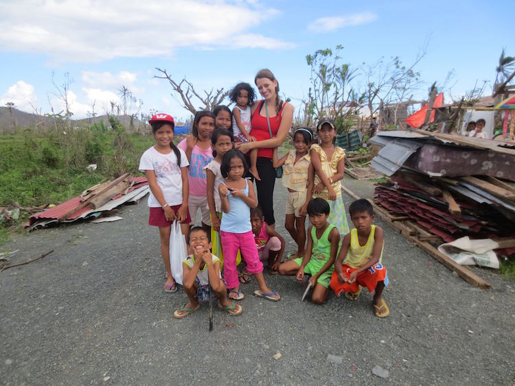 After Typhoon Haiyan in early 2014