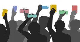 Citizen smartphone journalism