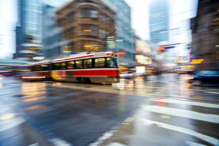 Streetcar in Toronto