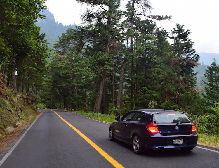 Date roadtrip toPopocatépetl/Iztaccihuatl National Park