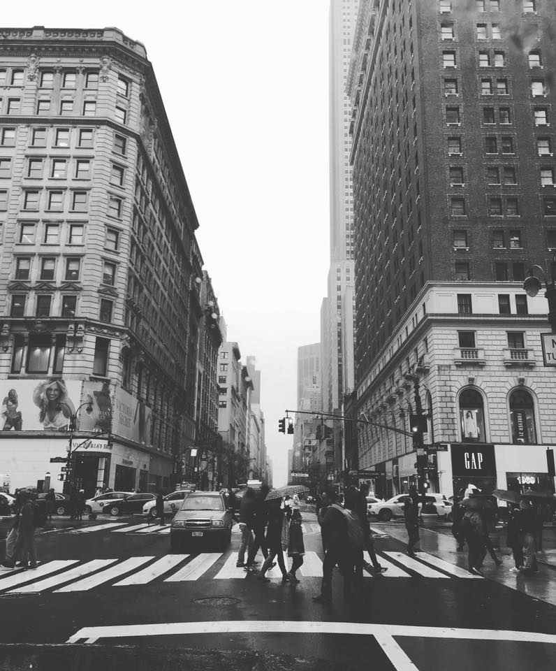 One of the many shots I took of my favorite place: New York City, March 2016