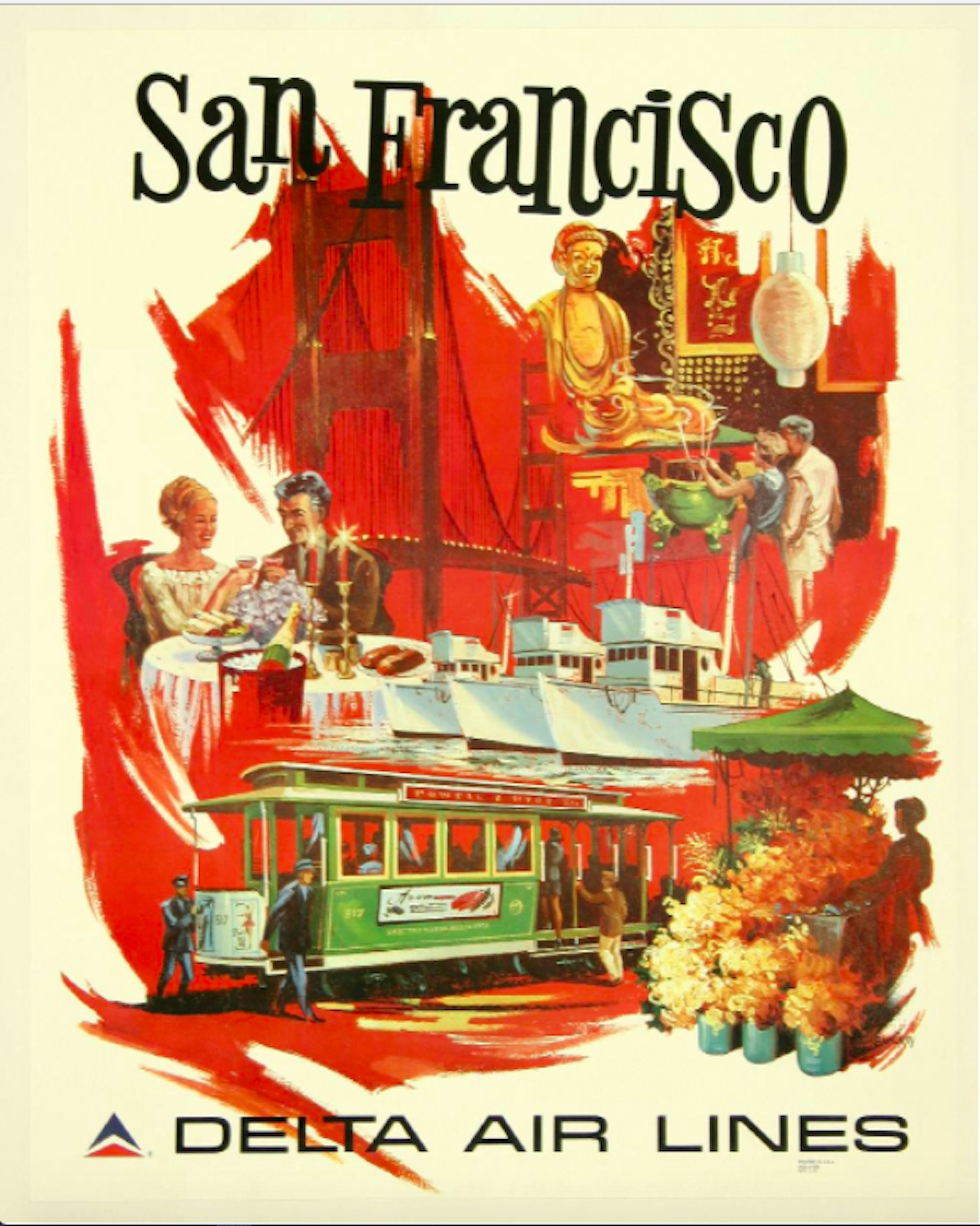 10 Vintage Airline Posters That Will Make You Wish You