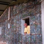 This man recycled over 1 million bottles and is using them to build the world's first plastic bottle village