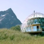 This family built their own eco-house under a solar dome in the Arctic Circle (photos)