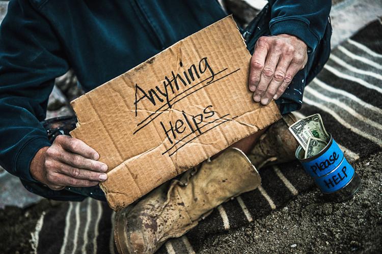homeless exploitation