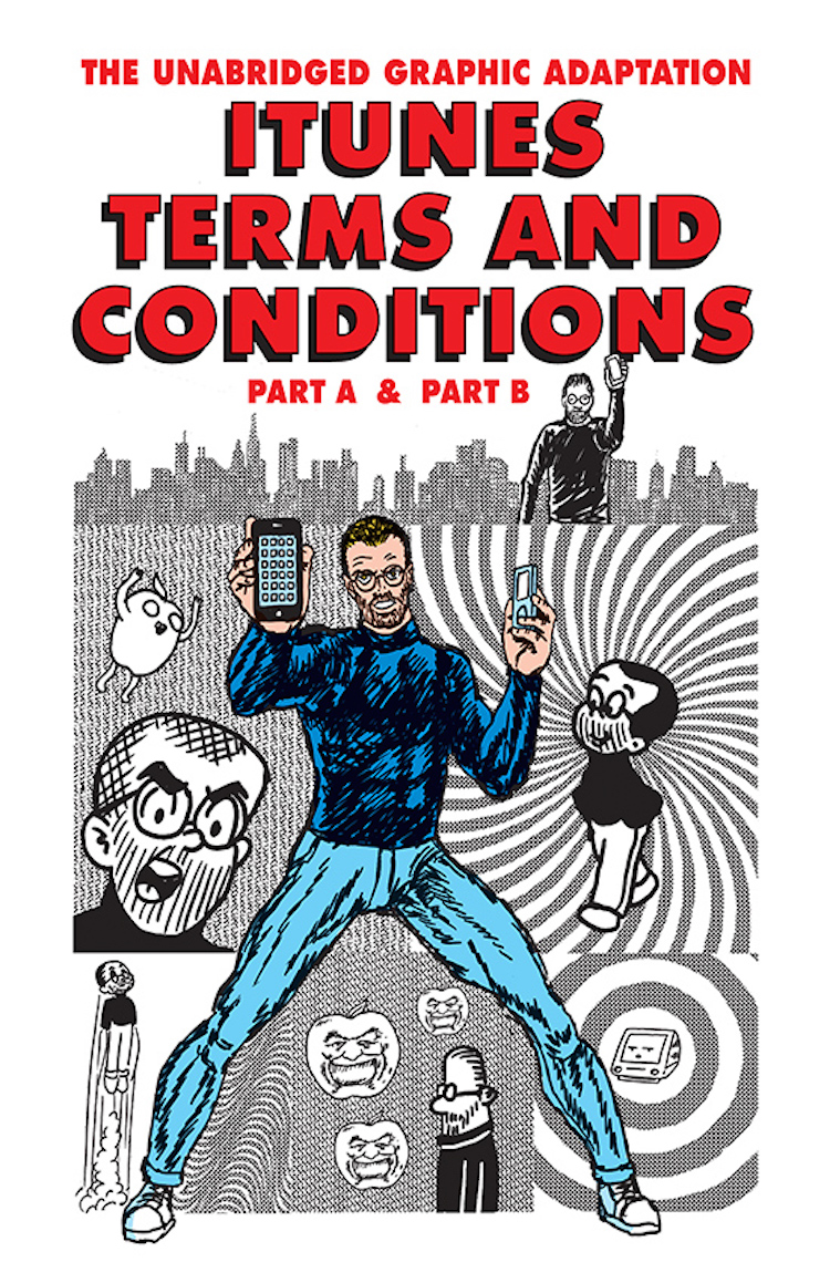 iTunes terms and conditions comic