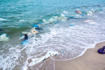 plastic bottle polution