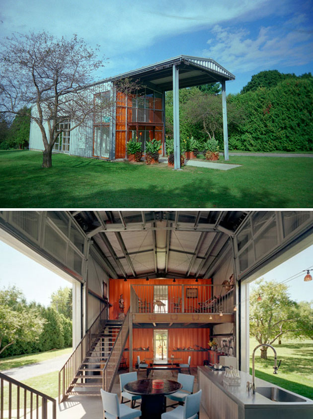container house vs traditional tiny home. Black Bedroom Furniture Sets. Home Design Ideas