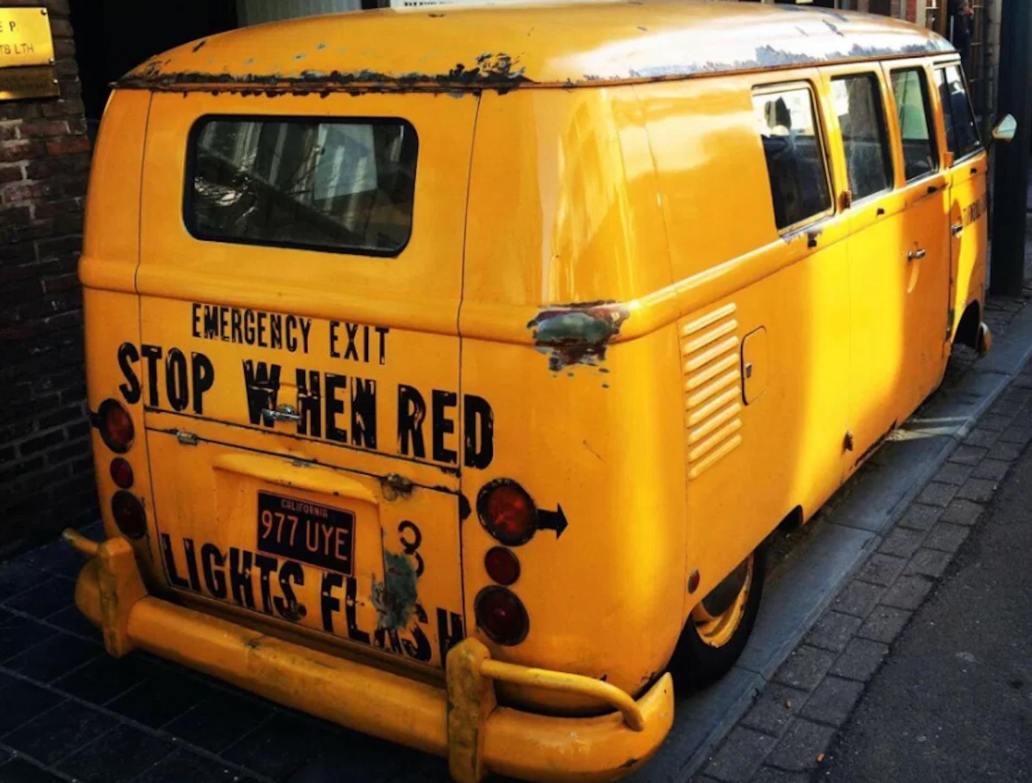 10 iconic hippie vans (photos)