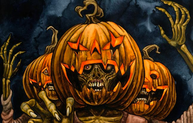 We Carve Pumpkins At Halloween_Plaid Zebra