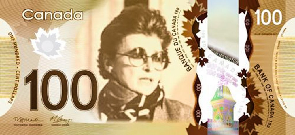 4_Canadian Women On Bank Notes
