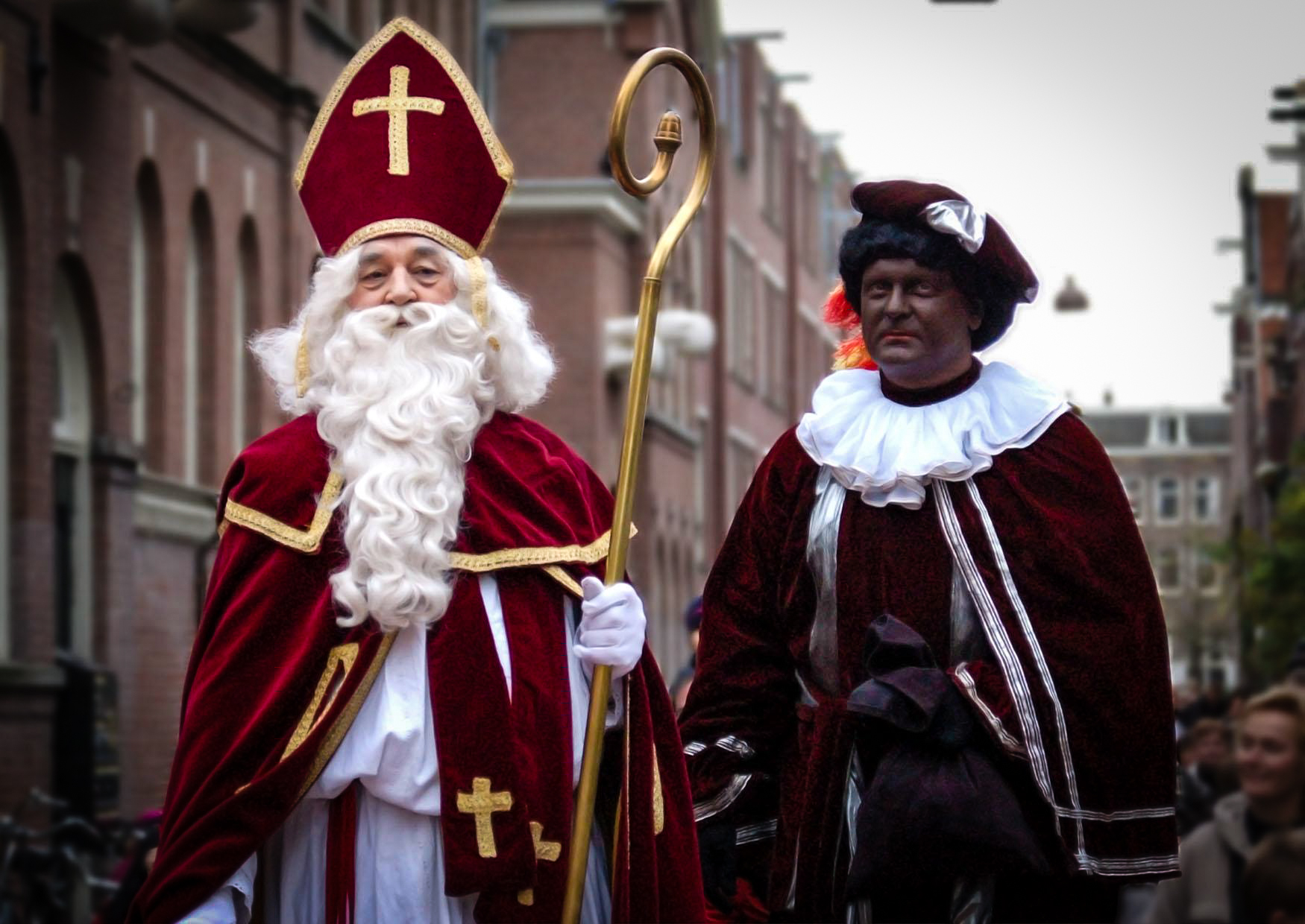 Christmas In Holland.The Netherlands Black Pete Tradition Is Definitely The Most