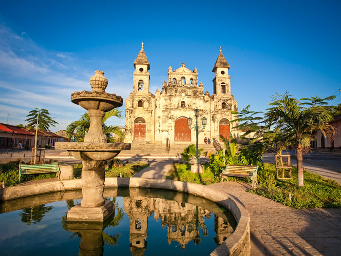 Nicaragua, Granada, Iglesia de Guadalupe