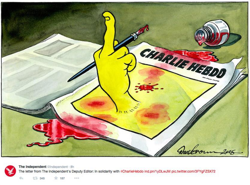 Charlie Hebdo shooting Comics_2