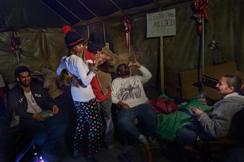3_tent village