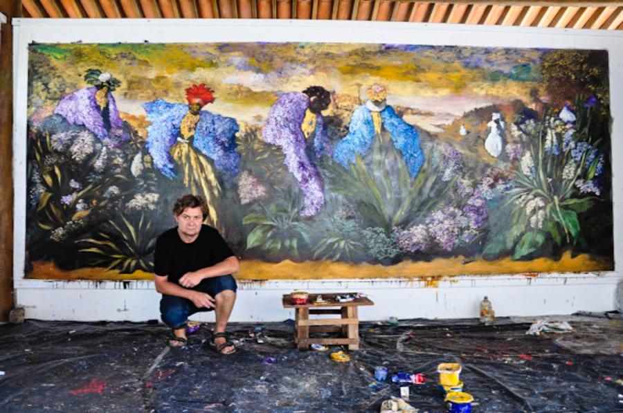 4_Brazilian Resort pays artist