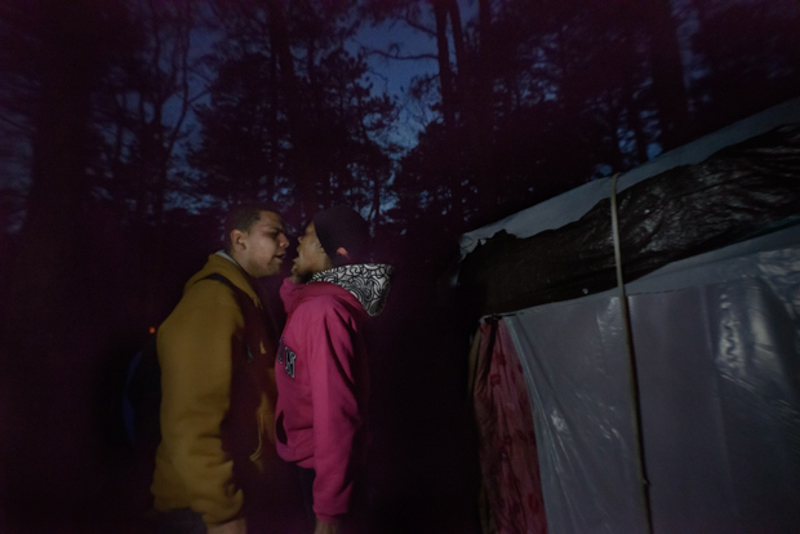 7_tent village