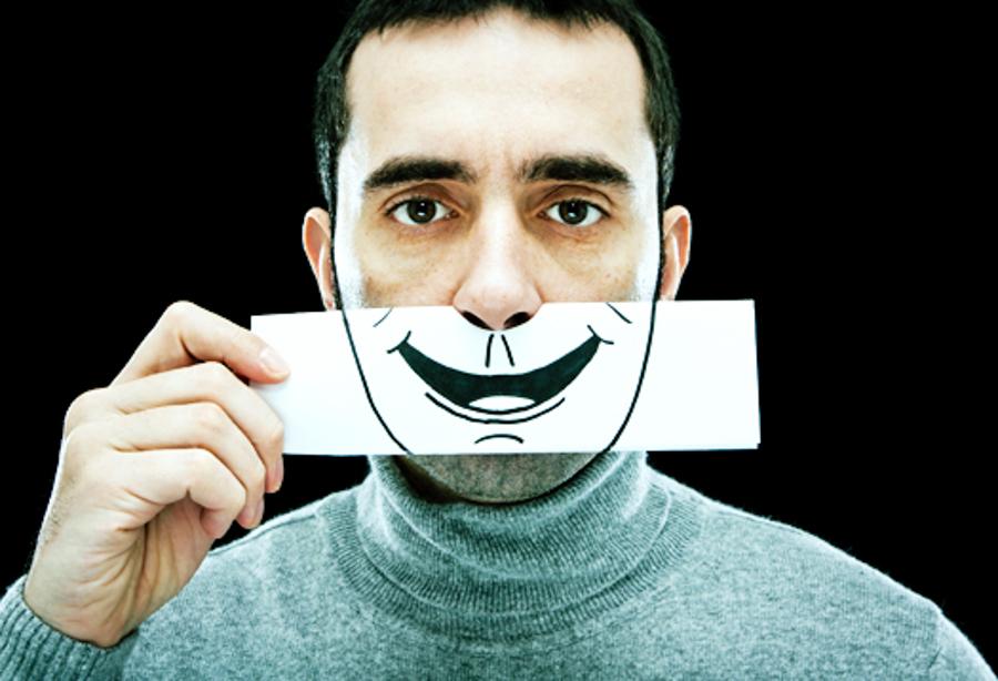 False smile