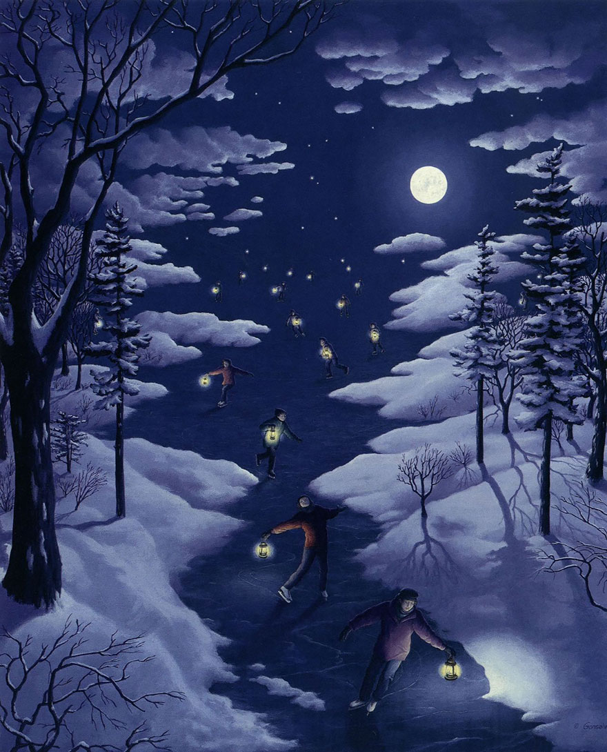 magic-realism-paintings-rob-gonsalves-14__880