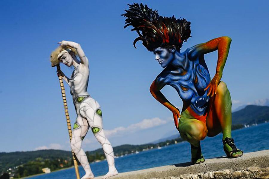 1_Italian Body Painting Festival- Verona, Italy