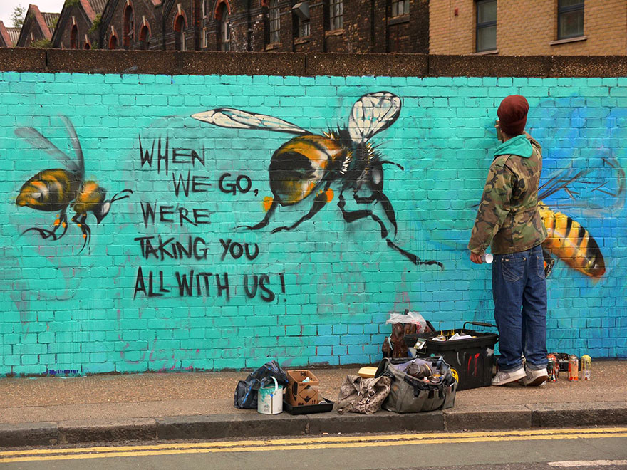 2_Honey Bee Graffiti