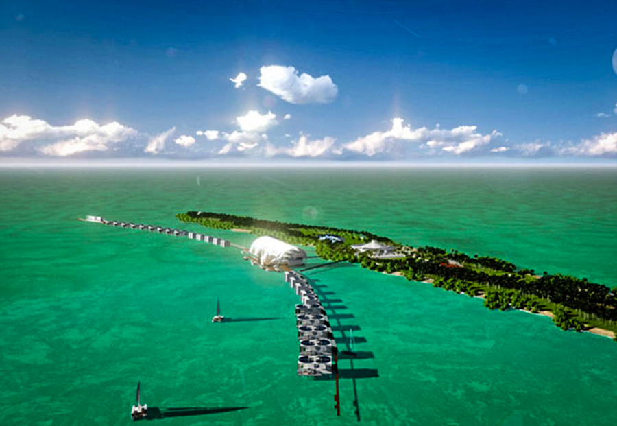 Leo DiCaprio Eco-Island 3 (2)