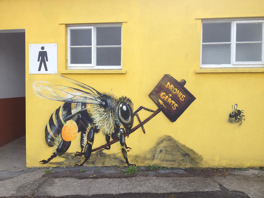 3_Honey Bee Graffiti