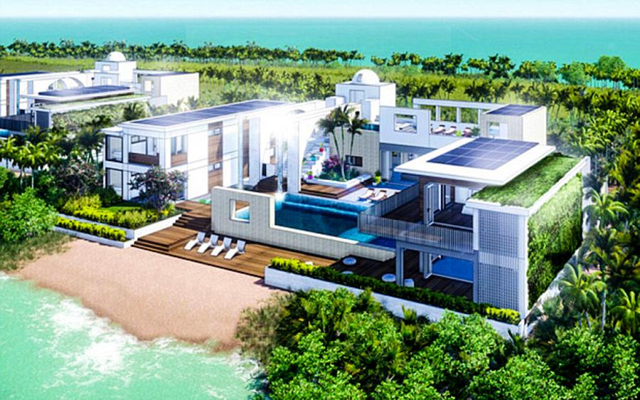 Leo DiCaprio Eco-Island 4 (2)