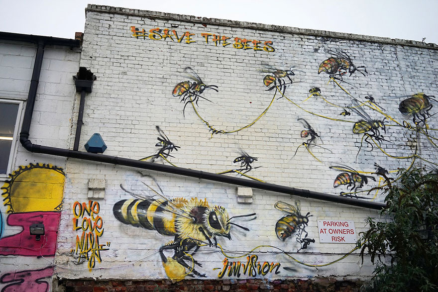 4_Honey Bee Graffiti