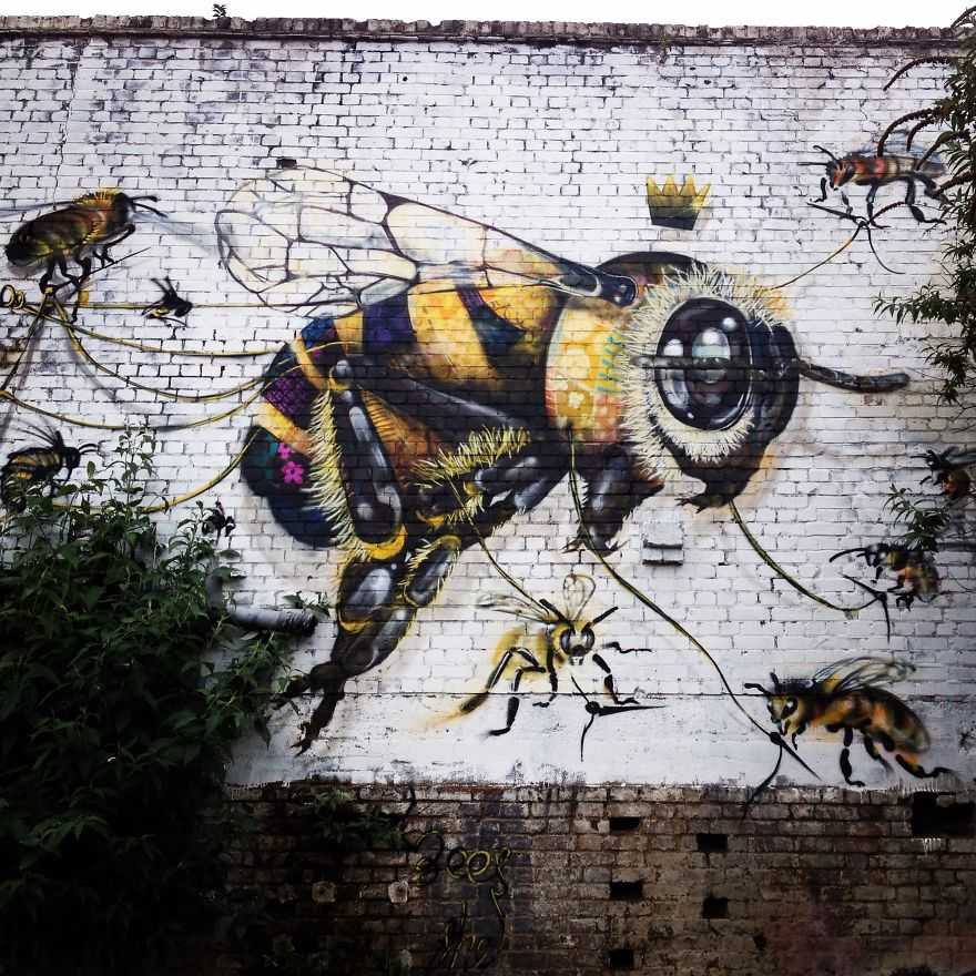5_Honey Bee Graffiti