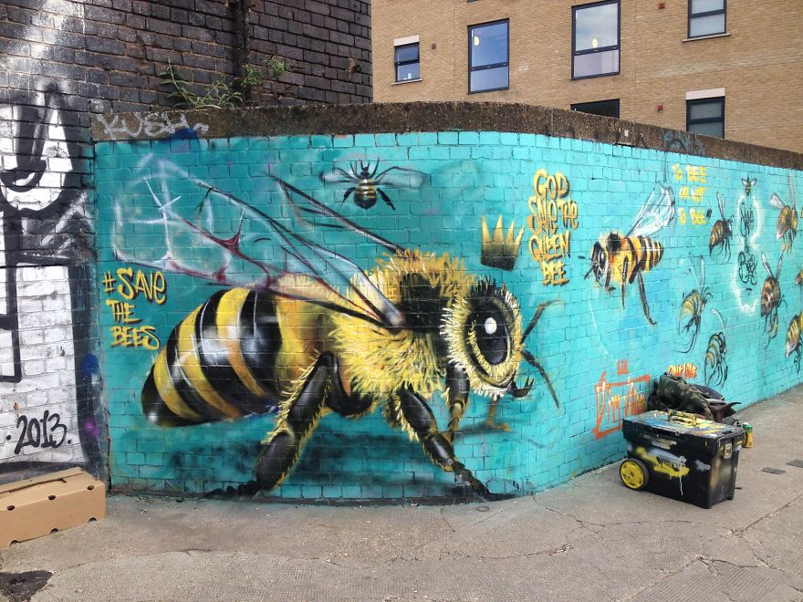 6_Honey Bee Graffiti