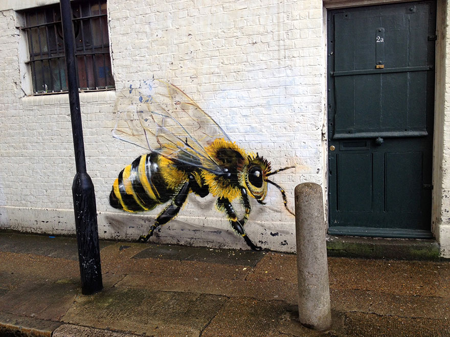 8_Honey Bee Graffiti