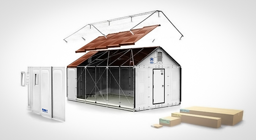Ikea designs pre made tiny homes to send to refugee camps Ikea small house floor plans