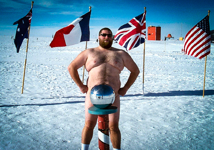 8_The 300 Degree Nude Swim Club - South Pole, Antarctica