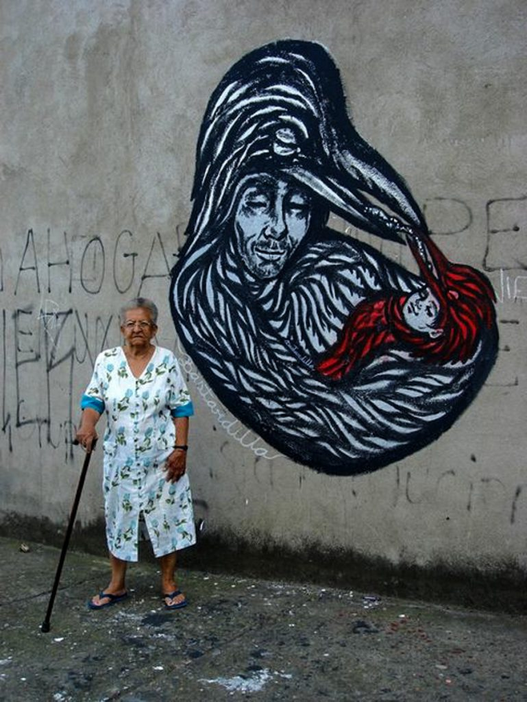 13_Bastardilla female street artist