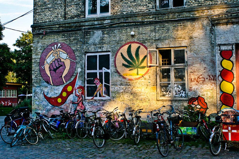 Freetown Commune Hippy Drugs Street Art 17