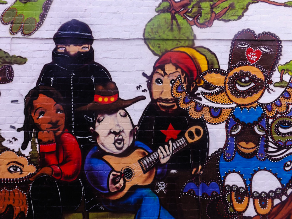 Freetown Commune Hippy Drugs Street Art 18