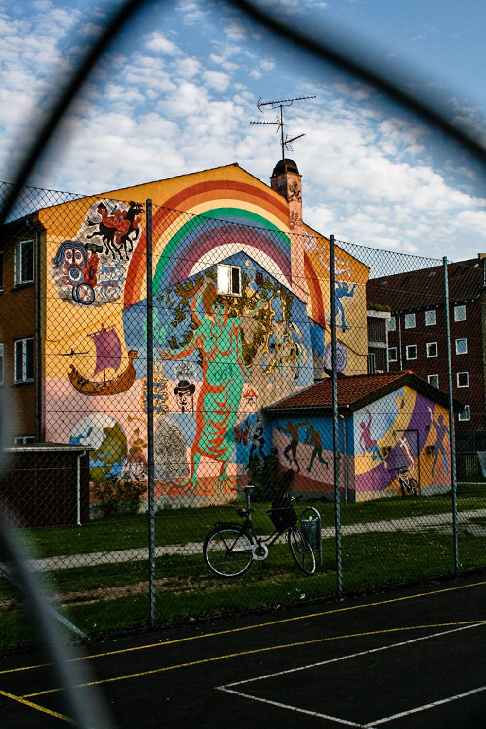 Freetown Commune Hippy Drugs Street Art 19