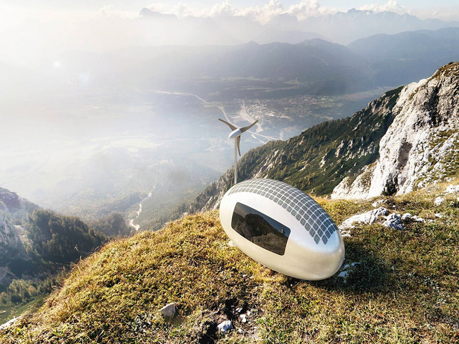 2_Solar powered Ecocapsule