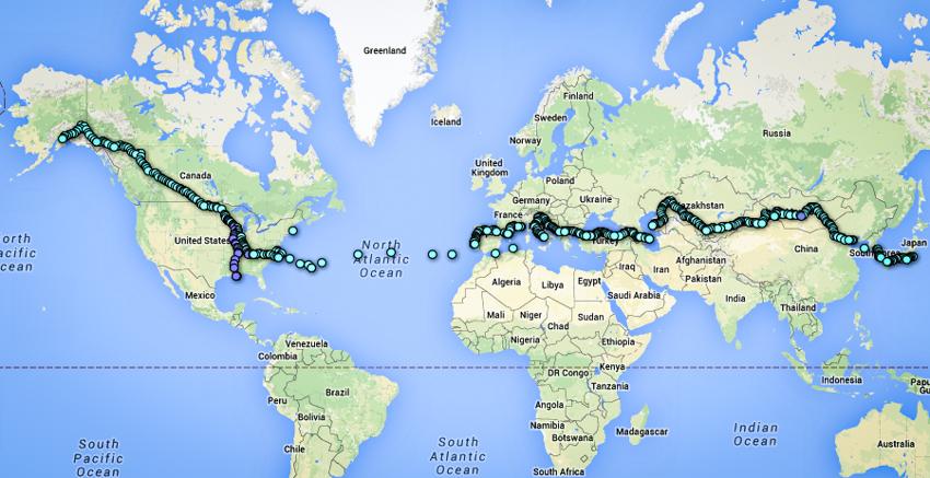 2_guy walked around the world