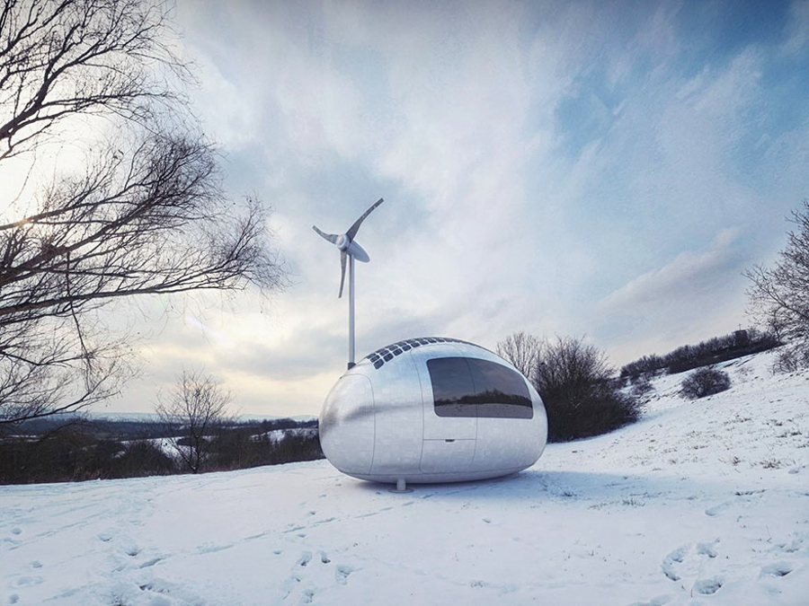 3_Solar powered Ecocapsule