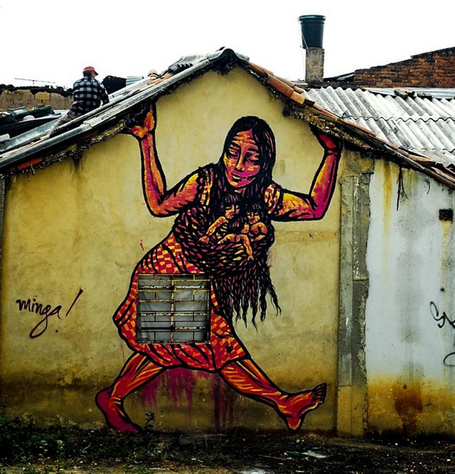 4_Bastardilla female street artist