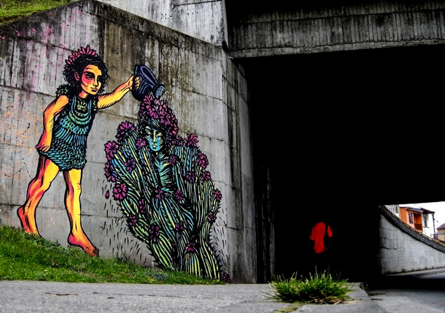 5_Bastardilla female street artist
