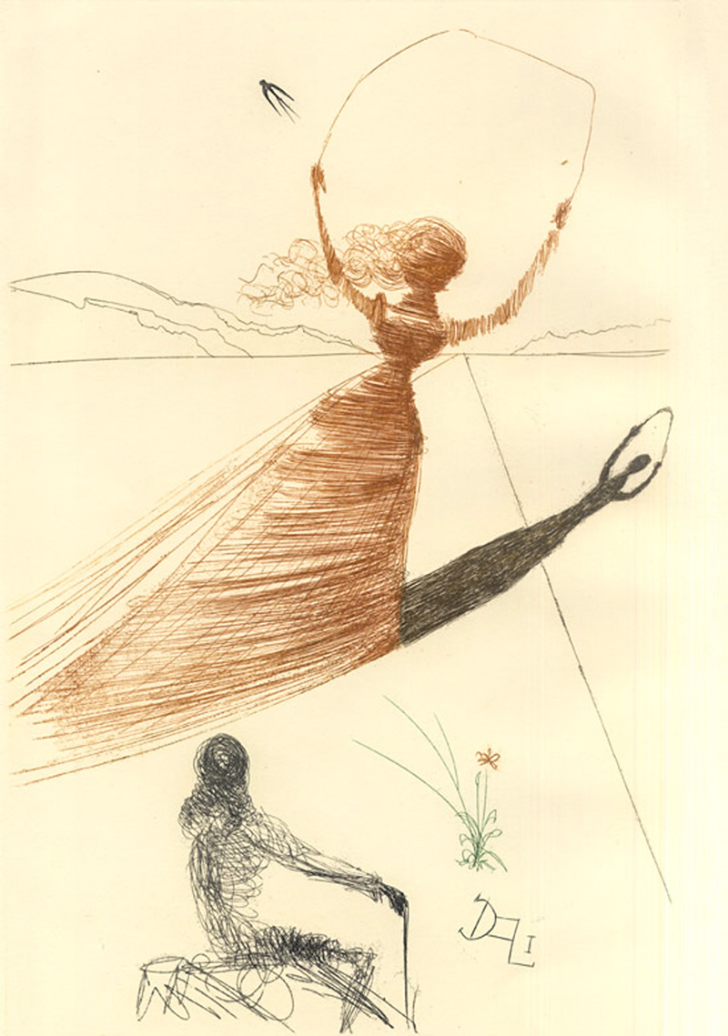 1_Salvador Dali Alice in Wonderland