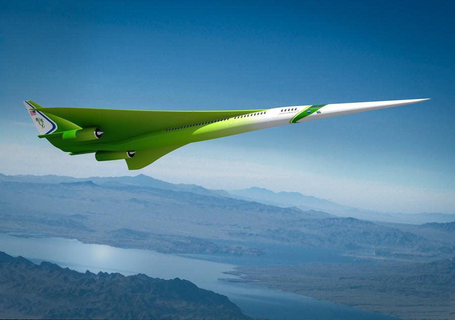 2_NASA supersonic plane
