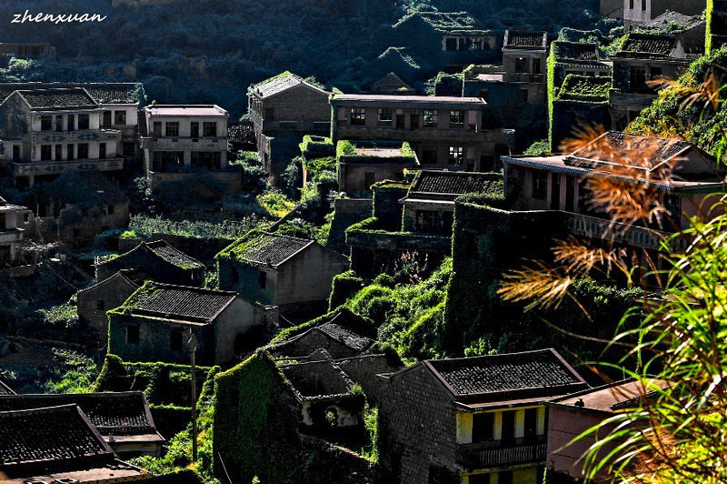 2_abandoned fishing village in China