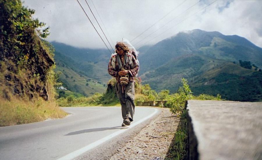 3_Man on longest walk