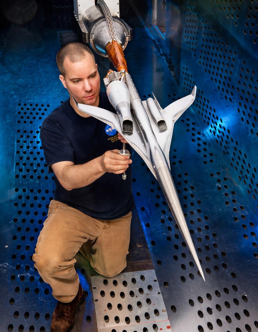 3_NASA supersonic plane